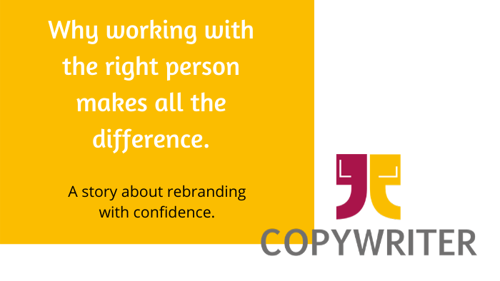 Why working with the right person makes all the difference.